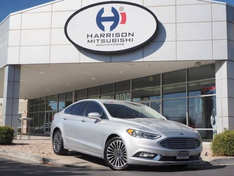 2017 Ford Fusion for sale at Harrison Imports in Sandy UT