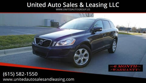 2013 Volvo XC60 for sale at United Auto Sales & Leasing LLC in La Vergne TN