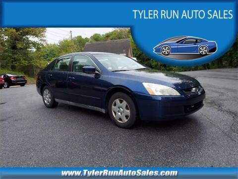 2005 Honda Accord for sale at Tyler Run Auto Sales in York PA