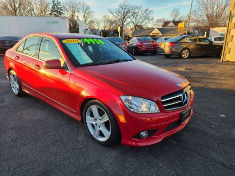 2010 Mercedes-Benz C-Class for sale at Costas Auto Gallery in Rahway NJ