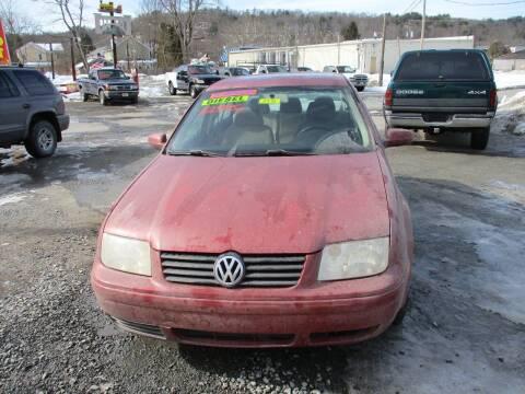 2000 Volkswagen Jetta for sale at FERNWOOD AUTO SALES in Nicholson PA
