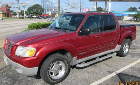 2001 Ford Explorer Sport Trac for sale at Spartan Auto Sales in Beaumont TX