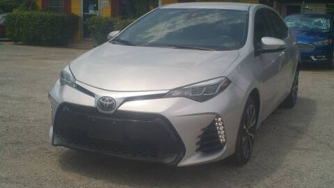 2017 Toyota Corolla for sale at Global Vehicles,Inc in Irving TX