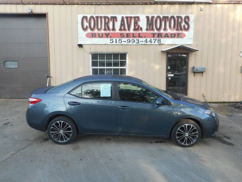 2014 Toyota Corolla for sale at Court Avenue Motors in Adel IA