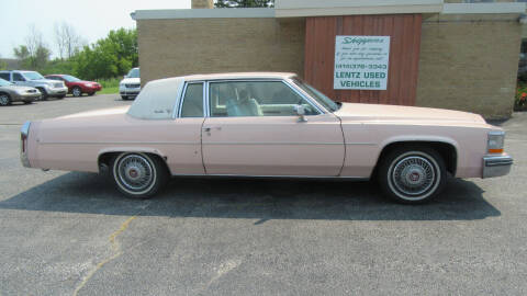 1981 Cadillac DeVille for sale at LENTZ USED VEHICLES INC in Waldo WI