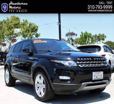 2015 Land Rover Range Rover Evoque for sale at Hawthorne Motors Pre-Owned in Lawndale CA