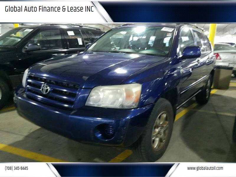 2004 Toyota Highlander for sale at Global Auto Finance & Lease INC in Maywood IL