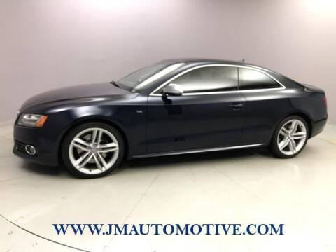 2011 Audi S5 for sale at J & M Automotive in Naugatuck CT