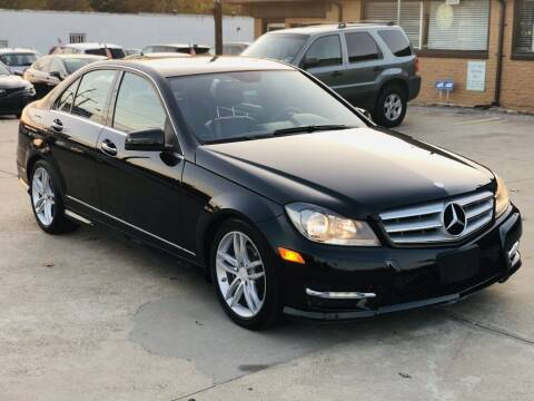 2012 Mercedes-Benz C-Class for sale at Safeen Motors in Garland TX