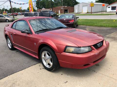 2001 Ford Mustang for sale at Wise Investments Auto Sales in Sellersburg IN