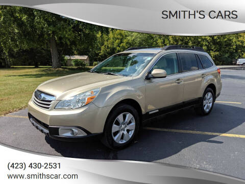 2010 Subaru Outback for sale at Smith's Cars in Elizabethton TN