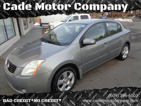 2008 Nissan Sentra for sale at Cade Motor Company in Lawrenceville NJ