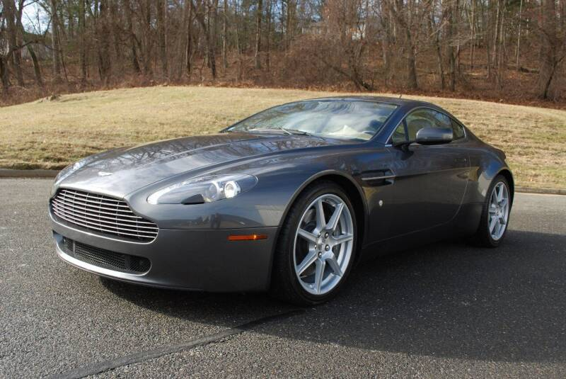 2006 Aston Martin V8 Vantage for sale at New Milford Motors in New Milford CT