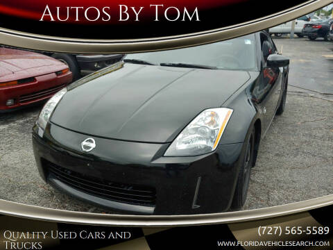 2003 Nissan 350Z for sale at Autos by Tom in Largo FL