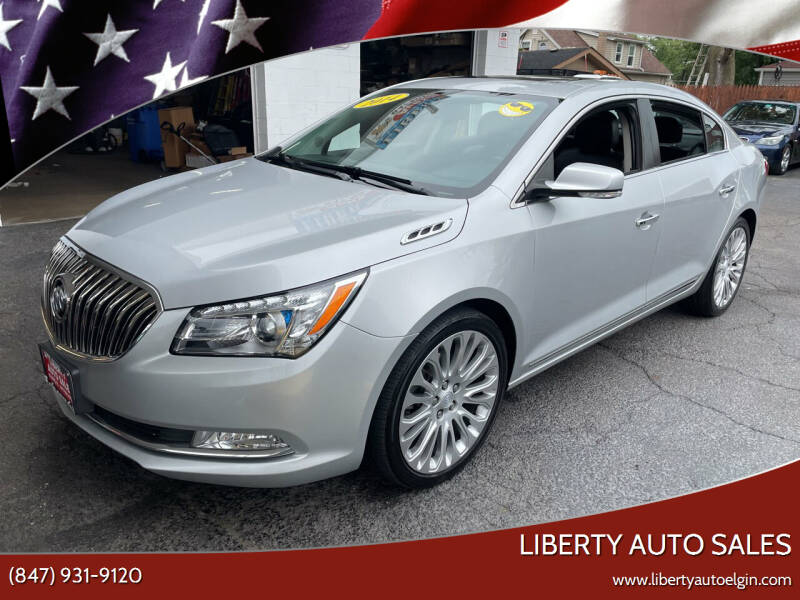 2014 Buick LaCrosse for sale at Liberty Auto Sales in Elgin IL