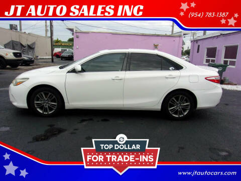 2015 Toyota Camry for sale at JT AUTO SALES INC in Oakland Park FL