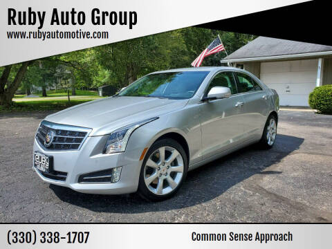 2014 Cadillac ATS for sale at Ruby Auto Group in Hudson OH