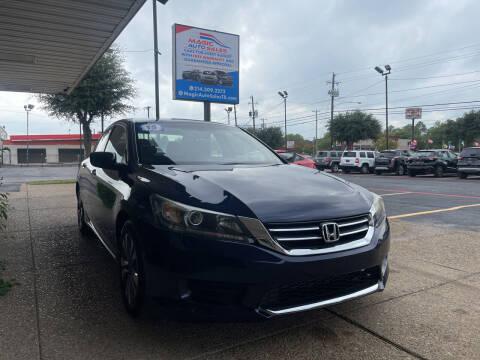 2015 Honda Accord for sale at Magic Auto Sales in Dallas TX