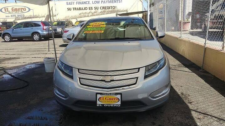 2012 Chevrolet Volt for sale at El Guero Auto Sale in Hawthorne CA