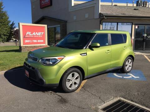 2016 Kia Soul for sale at PLANET AUTO SALES in Lindon UT