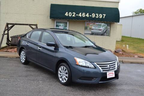 2015 Nissan Sentra for sale at Eastep's Wheels in Lincoln NE