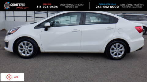 2016 Kia Rio for sale at Quattro Motors 2 in Farmington Hills MI