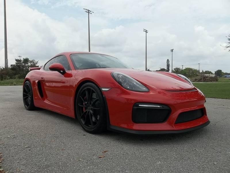 2016 Porsche Cayman for sale at DELRAY AUTO MALL in Delray Beach FL