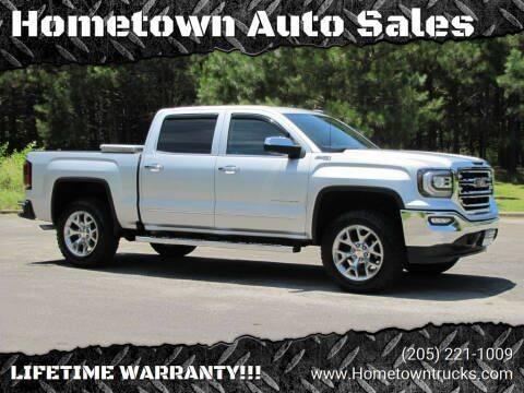 2018 GMC Sierra 1500 for sale at Hometown Auto Sales - Trucks in Jasper AL