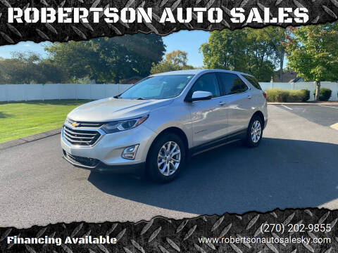 2018 Chevrolet Equinox for sale at ROBERTSON AUTO SALES in Bowling Green KY