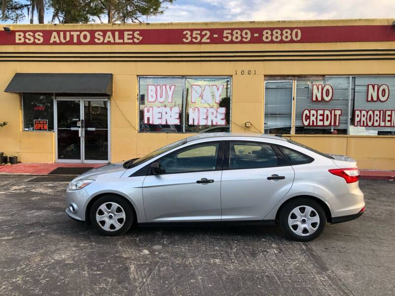 2012 Ford Focus for sale at BSS AUTO SALES INC in Eustis FL