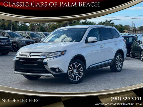 2017 Mitsubishi Outlander for sale at Classic Cars of Palm Beach in Jupiter FL