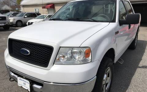 2006 Ford F-150 for sale at Volare Motors in Cranston RI