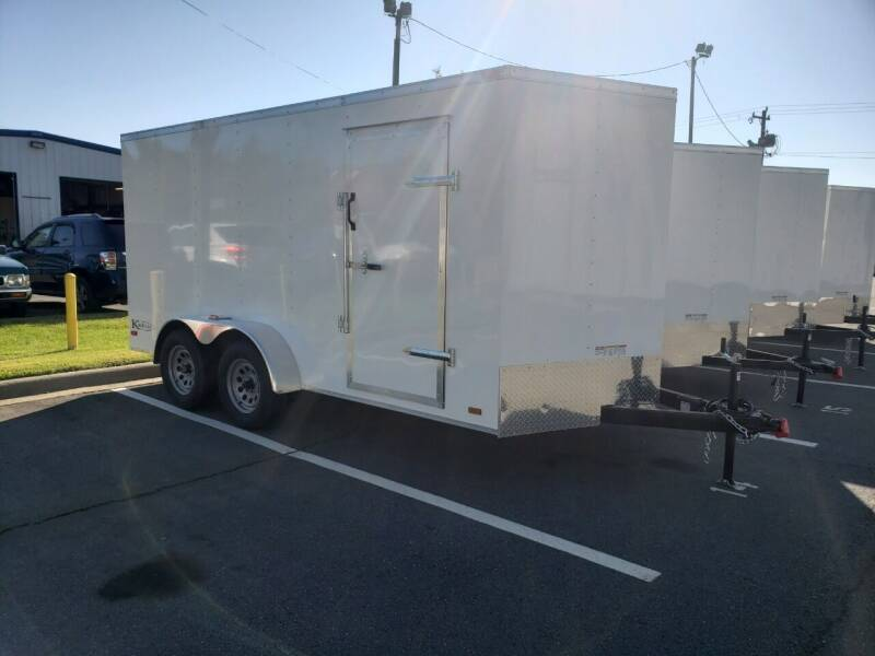 2021 7x14 Standard Enclosed Trailer for sale at Big Daddy's Trailer Sales in Winston Salem NC