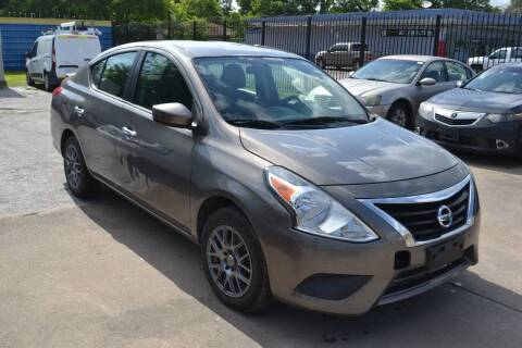 2016 Nissan Versa for sale at Preferable Auto LLC in Houston TX