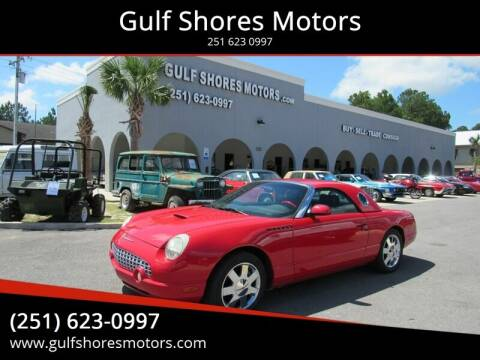 2002 Ford Thunderbird for sale at Gulf Shores Motors in Gulf Shores AL