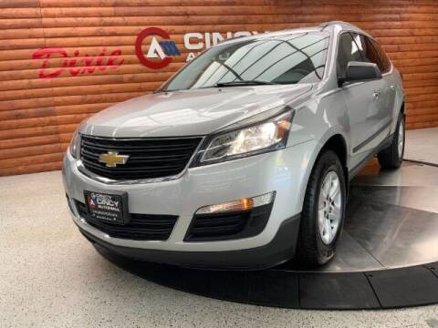 2015 Chevrolet Traverse for sale at Dixie Motors in Fairfield OH