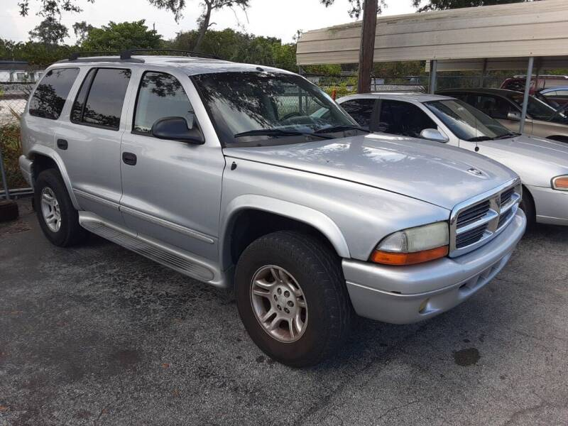 2003 Dodge Durango for sale at Easy Credit Auto Sales in Cocoa FL