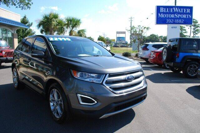 2017 Ford Edge for sale at BlueWater MotorSports in Wilmington NC