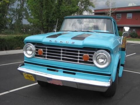 1967 Dodge D300 Pickup for sale at Pollard Brothers Motors in Montrose CO