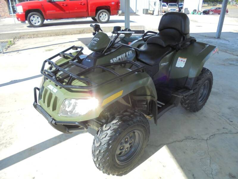2007 Arctic Cat 650 H1 TRV 4x4 for sale at US PAWN AND LOAN in Austin AR