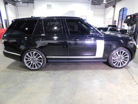 2019 Land Rover Range Rover for sale at Shedlock Motor Cars LLC in Warren NJ