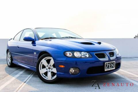 2005 Pontiac GTO for sale at Zen Auto Sales in Sacramento CA