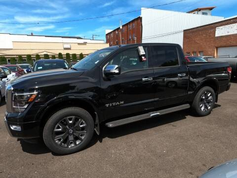 2021 Nissan Titan for sale at Kiefer Nissan Budget Lot in Albany OR