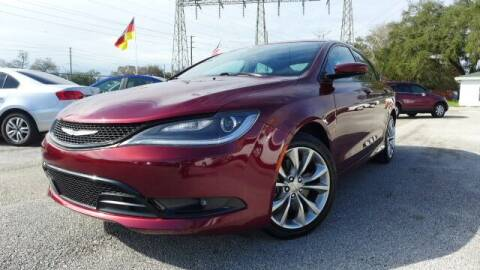 2015 Chrysler 200 for sale at Das Autohaus Quality Used Cars in Clearwater FL