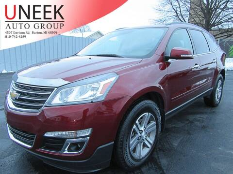 2016 Chevrolet Traverse for sale at Uneek Auto Group LLC in Burton MI