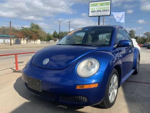 2007 Volkswagen New Beetle for sale at Shock Motors in Garland TX