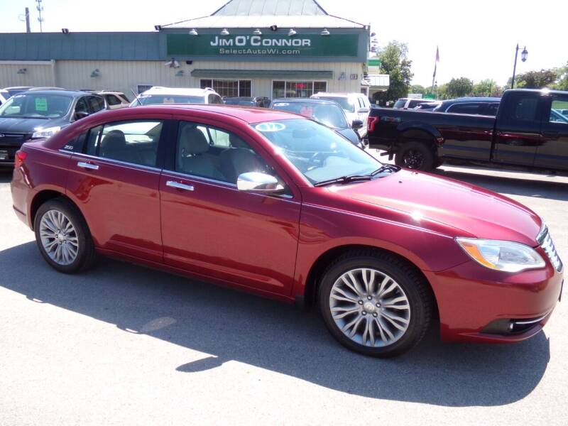 2012 Chrysler 200 for sale at Jim O'Connor Select Auto in Oconomowoc WI