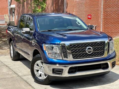 2017 Nissan Titan for sale at Unique Motors of Tampa in Tampa FL
