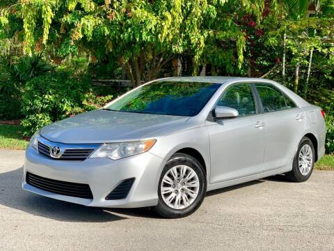 2013 Toyota Camry for sale at Citywide Auto Group LLC in Pompano Beach FL