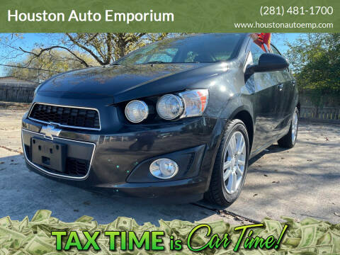 2014 Chevrolet Sonic for sale at Houston Auto Emporium in Houston TX